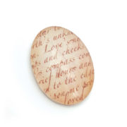 Handmade Shakespeare cabochons perfect for beading projects