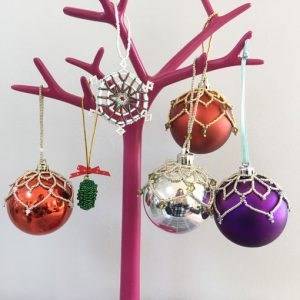 Christmas Beading Workshop with Chloe Menage