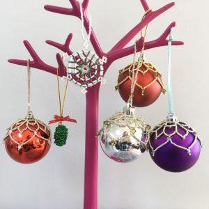 Christmas Beading Workshop with Chloe Menage