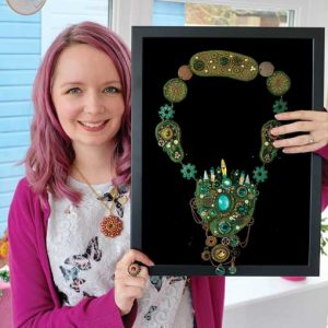 Chloe Menage - jewellery and beadwork designer based in Hampshire