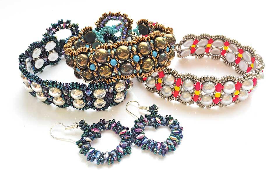 Amorini beaded bracelet workshop with Chloe Menage