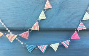 Beaded Bunting Necklace