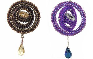 Celestial Armilla spinning pendant