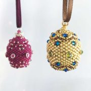Imperial Eggs beading workshop with Chloe Menage