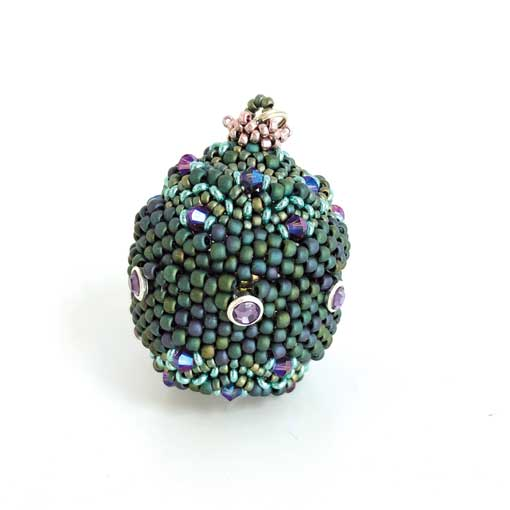 Imperial Egg Beading workshop with Chloe Menage