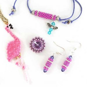 Beginners guide to beadweaving workshop with Chloe Menage