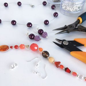 Beginners' Beaded Jewellery Making Workshop with Chloe Menage - Hayling Island, Hampshire