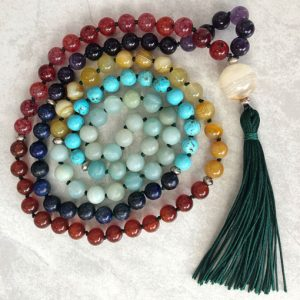 Create your own mala meditation beads workshop with Chloe Menage