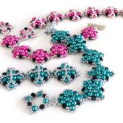 Contessa Bracelets beadweaving pattern by Chloe Menage