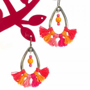 Make your own statement earrings in this workshop in Petersfield Hampshire