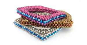 Square bangle beading pattern