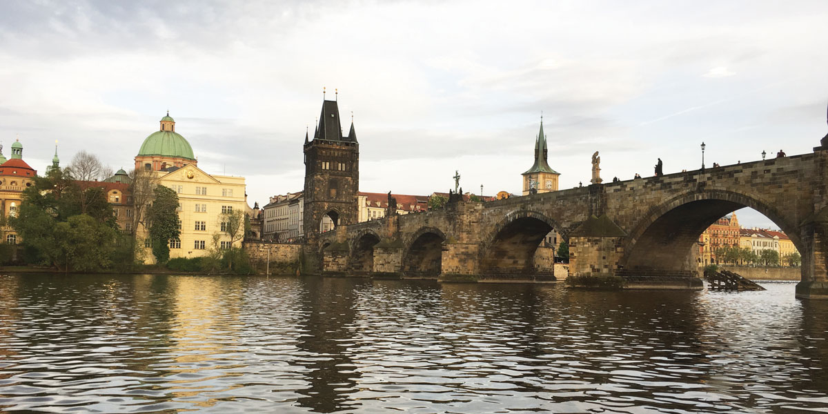 St Charles Bridge - Czech Bead Tours