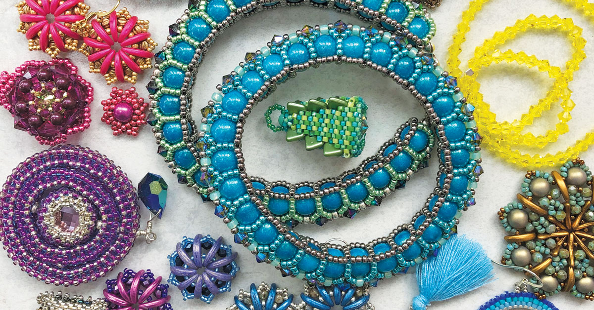 Be Bold With Colour Lecture with Chloe Menage & the Beadworkers Guild November 2020