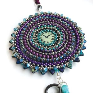 Astronomical Clock virtual beading workshop at Stitchncraft Beads