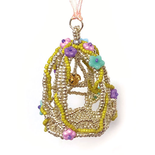 Rêves Bird Cage Beading Workshop with Stitchncraft Beads