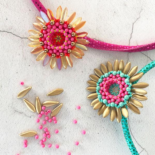 Lotus Pendant by Chloe Menage as seen on JewelleryMaker TV